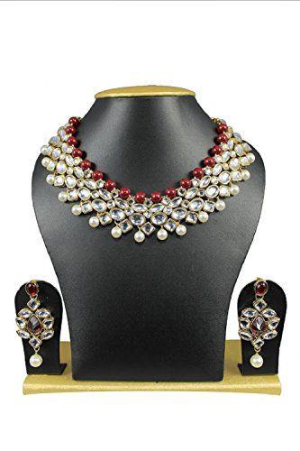 Most Gorgeous Maroon White Pearls Stones CZ Kundan Earrin... https://www.amazon.com/dp/B01J7VH2YY/ref=cm_sw_r_pi_dp_x_YppWyb8FKF576