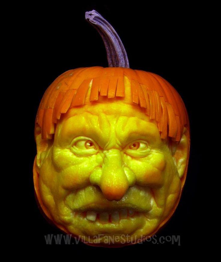 Best HolidayHalloweenJackOLanterns And Pumpkin Sculpture - Mind blowing pumpkin carvings by ray villafane 2