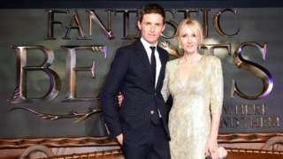 Image copyright                  PA                  Image caption                                      Eddie Redmayne stars in the film, which was written by JK Rowling                                Harry Potter spin-off Fantastic Beasts and Where To Find Them worked its magic at North American cinemas, taking an estimated $75m (£61m) over the weekend. Writte