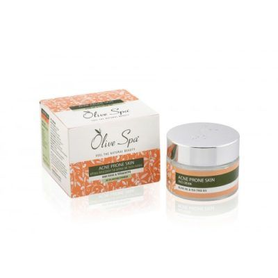 Anti-acne gezichtscrème 50ml. Creme tegen puistjes en mee eeters