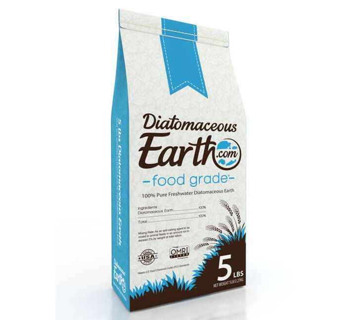 Buy Diatomaceous Earth Food Grade 5 lbs Only $16.99 / (Natural Flea & Tick Treatment for Yard, House and Pets...)