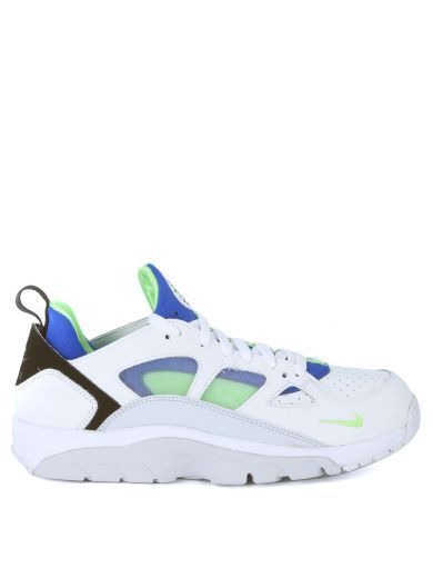 NIKE Sneaker Nike Air Trainer Huarache Low In Pelle Vegan E Neoprene Multicolor. #nike #shoes #sneakers
