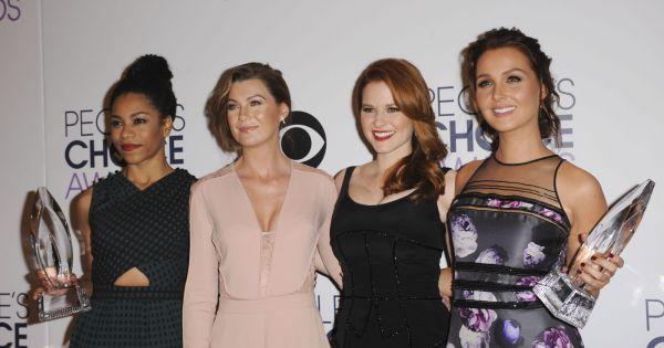 Kelly McCreary, Ellen Pompeo, Sarah Drew et Camille Luddington de Grey ...