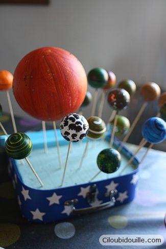 Planète - anniversaire cosmonaute  Astronaut party