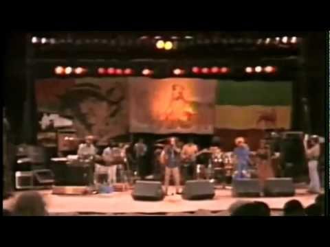 "Bob Marley and The Wailers perform ""One Drop"" live at the Santa Barbara County Bowl in 1979."