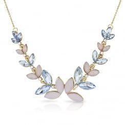 Johnny Loves Rosie Blush Blue Necklace