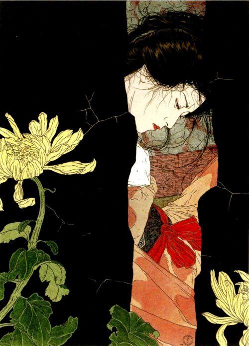 Takato Yamamoto: Arts, Illustrations, Black Will O The Wisp, Takato Yamamoto, Paintings, Yamamoto Takato, Asian Art