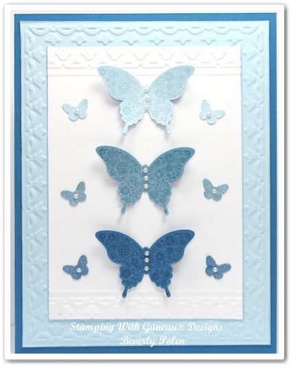 Stampin Up Papillon Potpourri Stamp Set