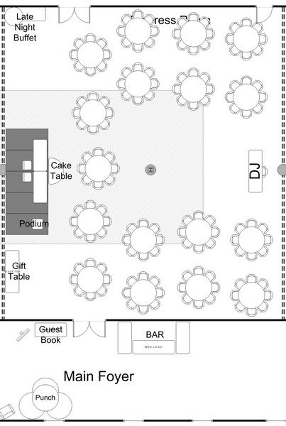 19 best midwest tent layouts images on pinterest for Wedding tent layout design