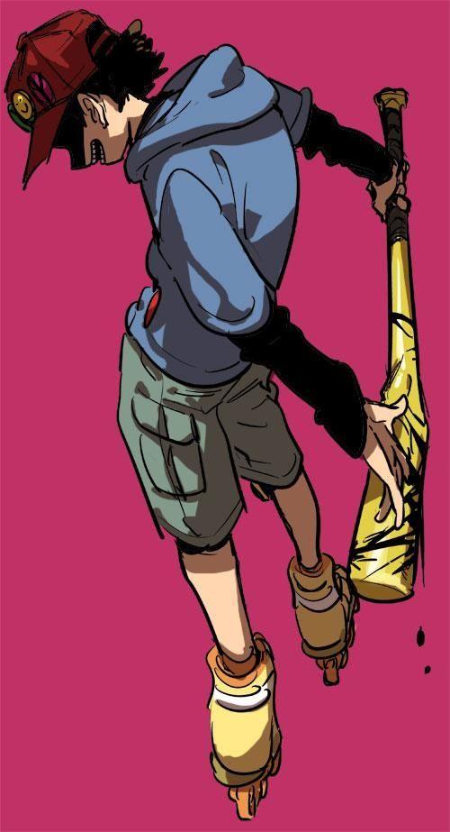Shounen Bat // Paranoia Agent