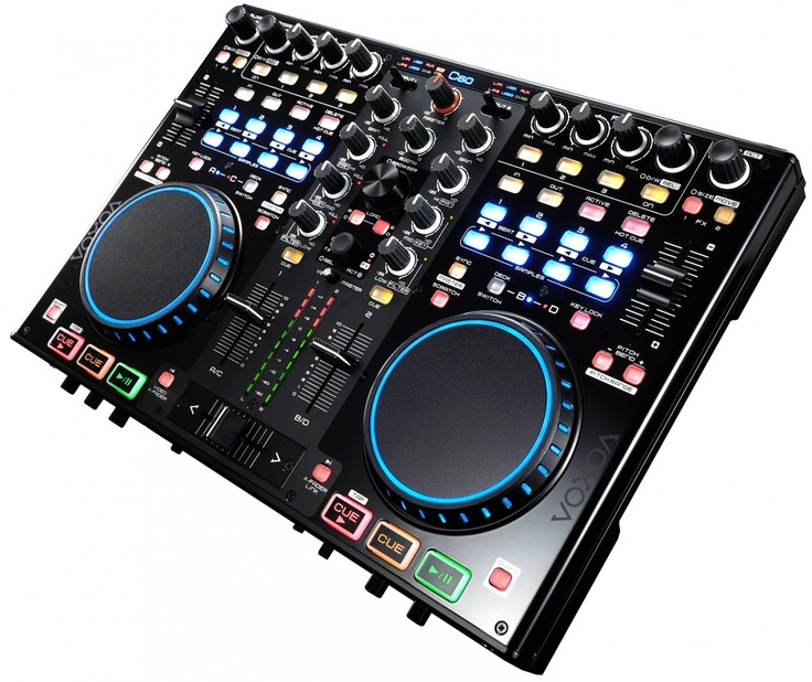 Voxoa C60 Midi Controller, Hybrid Mixer, Audio Interface