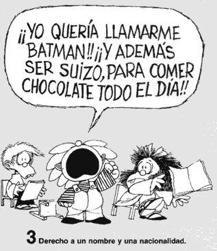 Por el Derecho a Tener Derechos: Mafalda y los Derechos del Niño.
