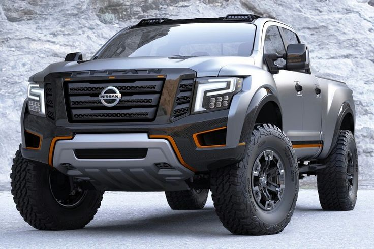 Badass new Nissan Titan Warrior concept looks to knock ...