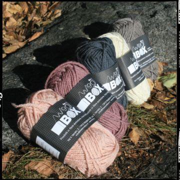 TAIL LIGHT LOWLANDS WOOL Filato pettinato 100% pura lana vergine Low land Inglese. Carettirizzata da fibra lunga antipilling