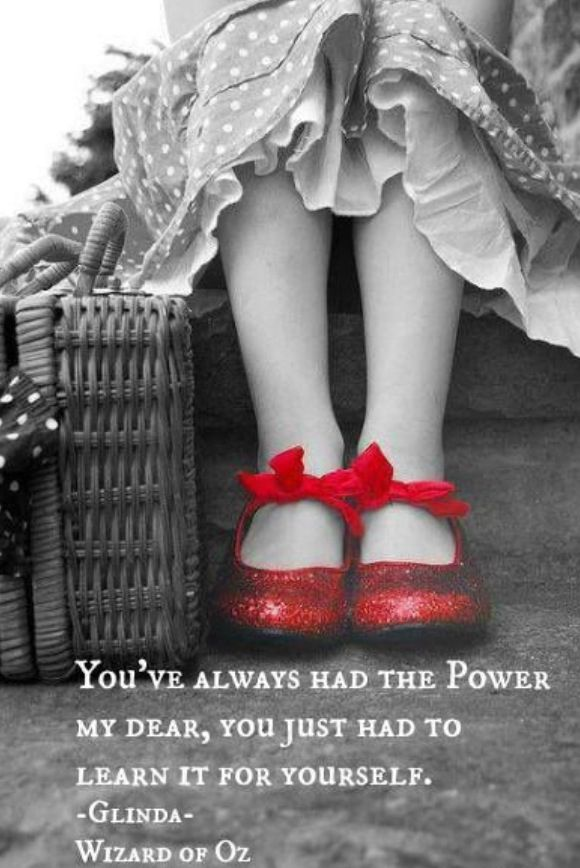 Wizard Of Oz Red Shoes Quote