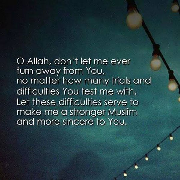 Love Allah~No Matter What Tests He Puts You Through