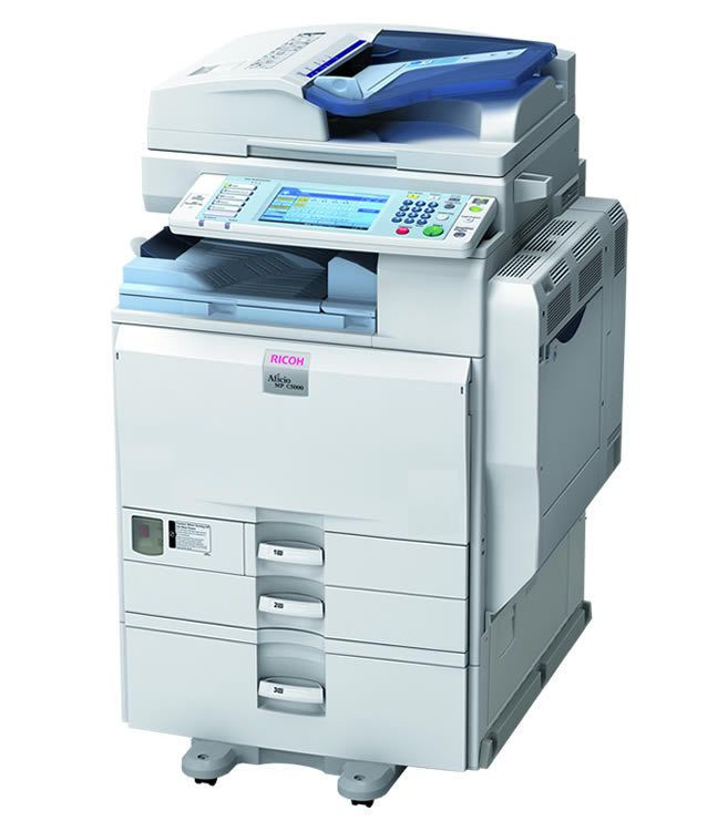 Details about Ricoh Aficio MP 4000 MFP Black & White Laser