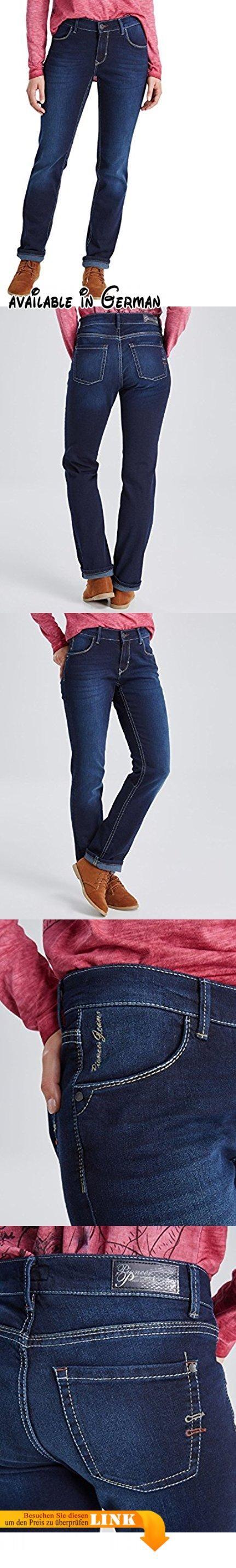 Pioneer Damen Jeanshose Sally, Blau (Dark Blue 467), W36/L32. Stil: Straight Leg. Stil: Straight Leg. Straight Leg #Apparel #PANTS