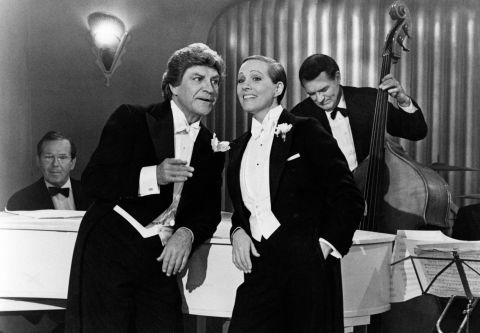 """Going back to her stage roots, Andrews starred as a penniless opera singer who disguises herself as a man. While her role was critically lauded, she famously refused her Tony nomination, stating that the awards show had """"egregiously overlooked"""" the musical's cast and crew."""