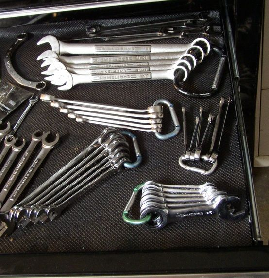 Tool Organizer. Omg.  Why haven't I thought of this? ?