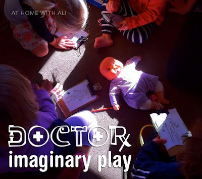 Make doctor charts for medical imaginary play.  Could make play therapy very interesting.