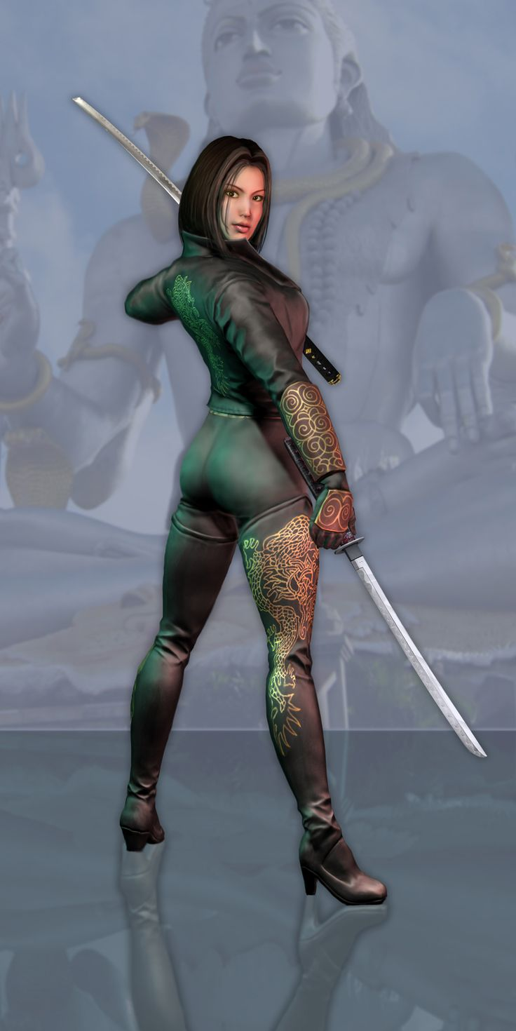 Justice League game - Lady Shiva - jon gwyn