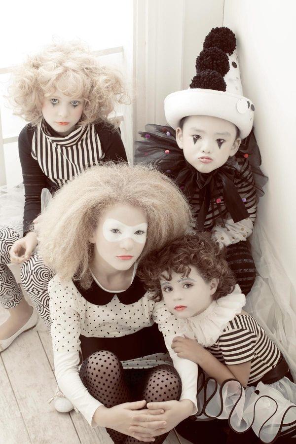 Carneval DIY Costume I Karneval Fasching Harlekin Kostüm Pierrot