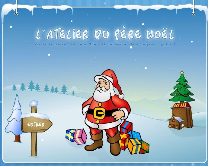 www.vivenoel.com/calendrier/index.htm  Chaque jour un nouveau jeu ou cadeau, à partir du 1er décembre.