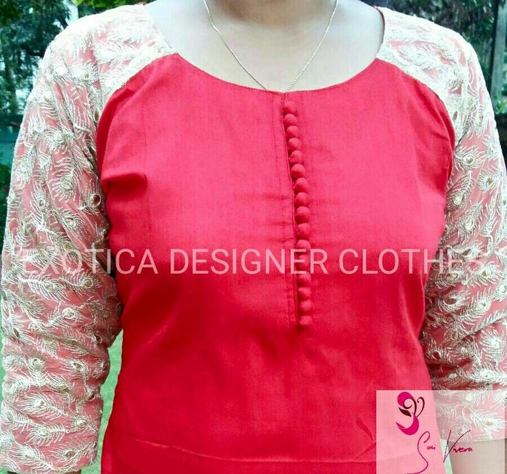 How to make different types of kurthi patterns
