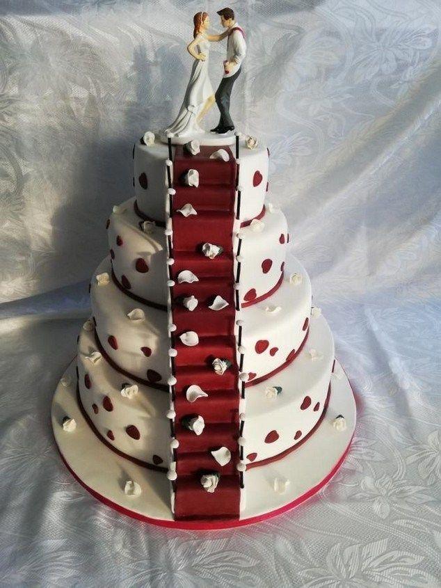 25 Creative Wedding Cake Ideas And Inspiration 00018 Unique Wedding Cakes Funny Wedding Cakes Unusual Wedding Cakes