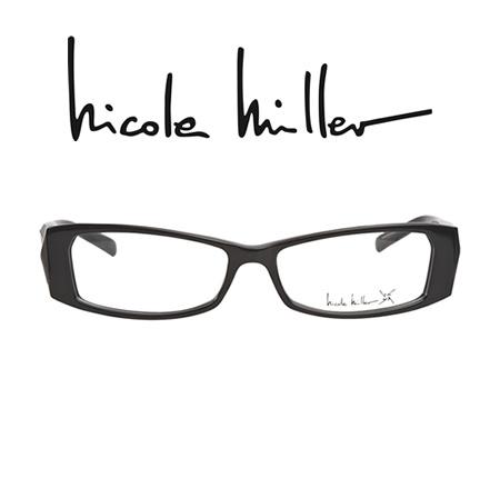 #NicoleMiller Shattered Black - these #eyeglasses offer something fresh and  new. These bold