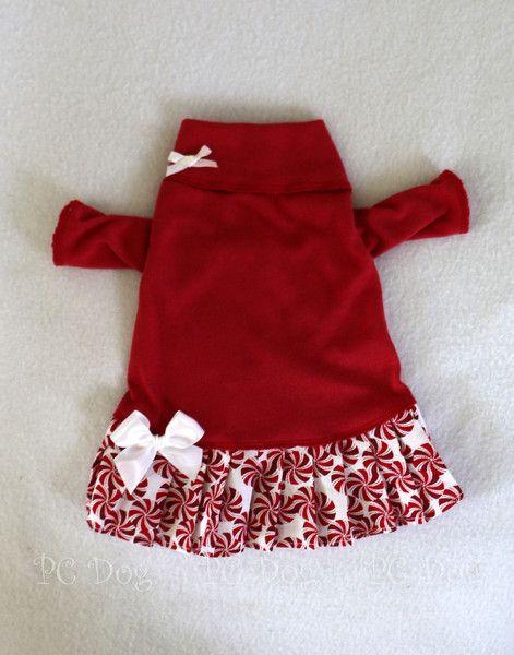 Christmas Mints Turtleneck Shirt Dress