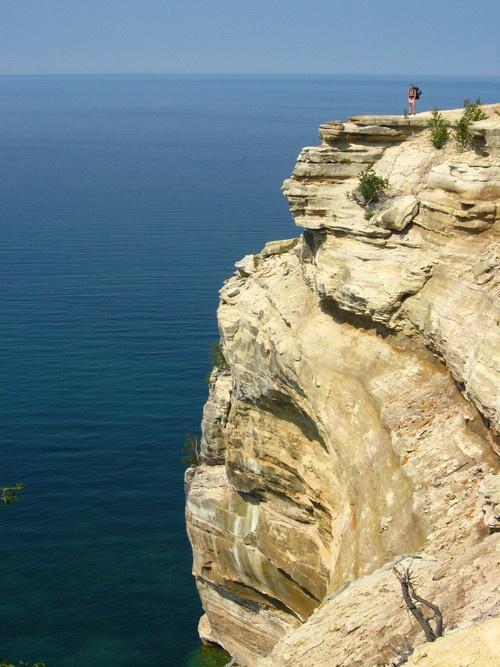 Pictured Rocks in Michigan's Upper Peninsula