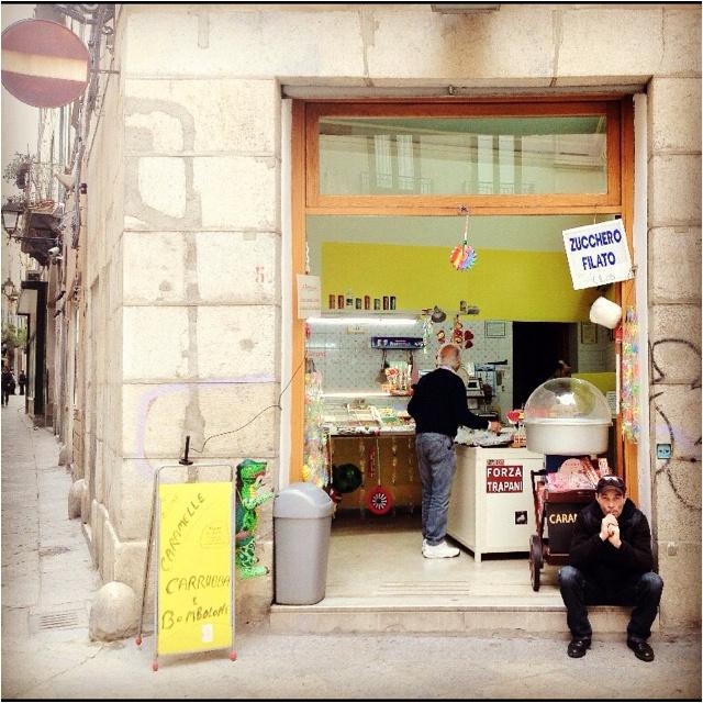 Trapani. Candy Shop.