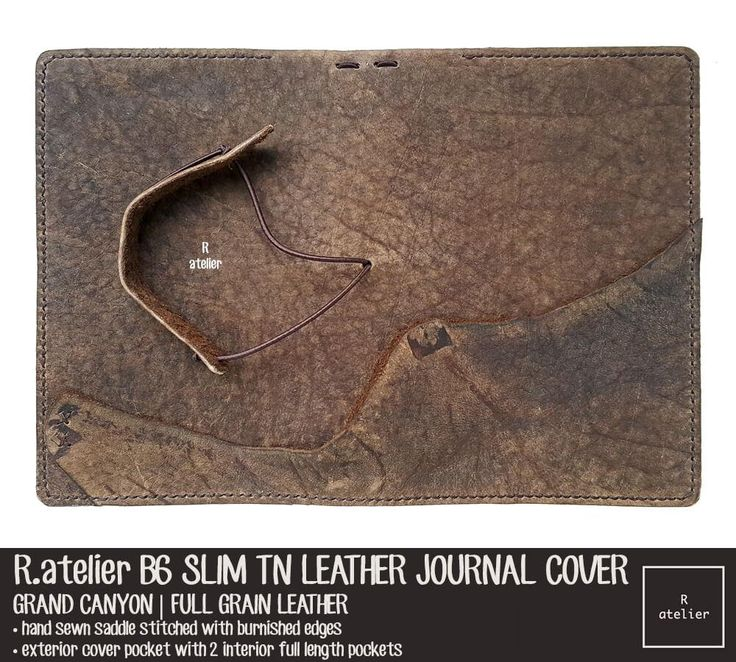 If you want the distinctive character of a leather bound book, our bespoke leather journal covers are just the perfect fit for your journals or notebooks