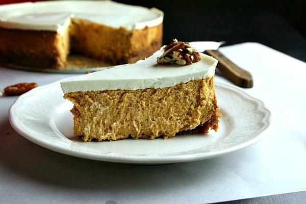 Scarborough FoodFair: Bourbon Pumpkin Cheesecake