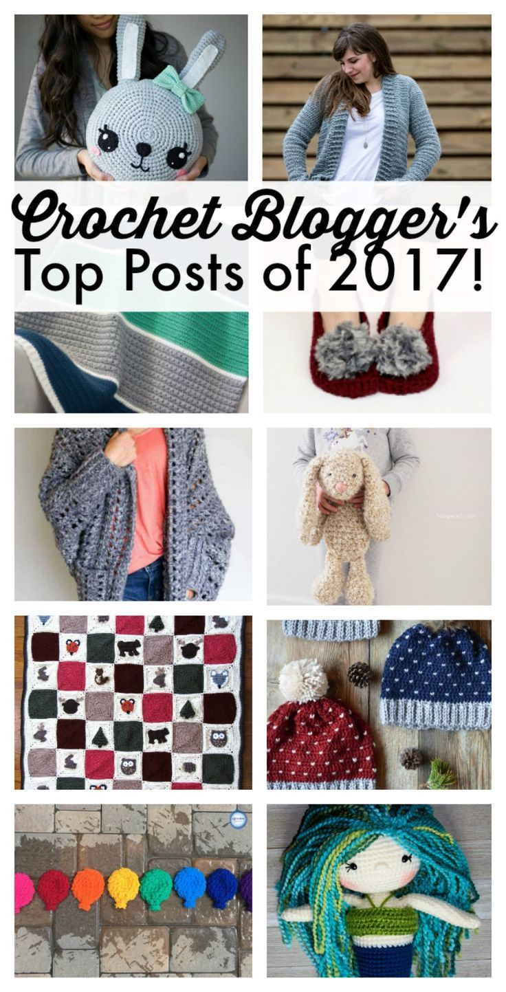 Today I have teamed up with other popular crochet bloggers to share our top free crochet patterns of the year! These patterns are modern, beginner friendly, and include everything from cardigans, home decor, baby blankets, scarves and toys! #crochet #freecrochetpattern #bloggers