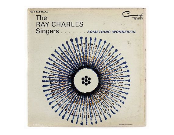 Charles Murphy record album design 1961. The Ray by NewDocuments, $12.00