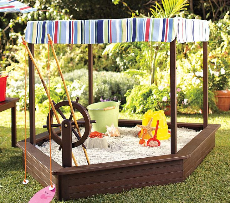 If you have kids, here is a great idea for the back yard.