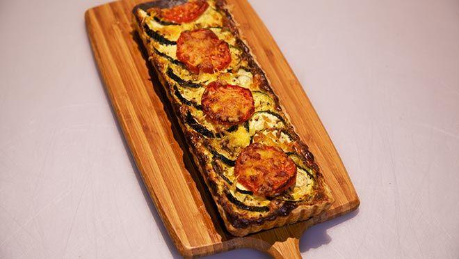 Krokante Italiaanse bladerdeegtaart - recept | 24Kitchen