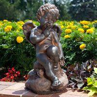 Всё о бегониях и не только...: Как правильно подобрать и разместить садовые скульптуры