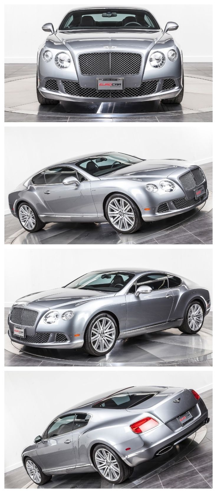 Bentley Continental GT Speed Edition. Under the hood is a 6.0 liter Twin-Turbo charged W12 engine producing 626HP and 695 ft-lb of torque! Using that power, the GT Speed will launch to 60 mph in less than 3.9 secs and all the way to an astonishing top speed of 206mph! #TurboTuesday