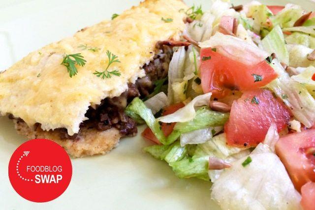 Recept: koolhydraatarme bloemkool quesadilla (foodblog swap)