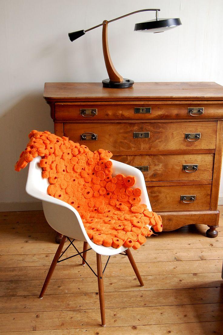 Funky Friday blog: vloerkleden waar je hebberig van wordt van Addysign / rug made of old blankets by Addysign
