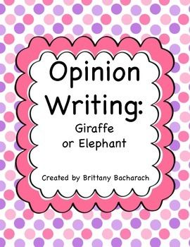 Write a Paragraph: Elephants