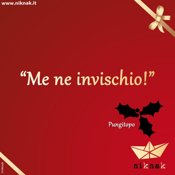 Citazioni di Natale: pungitopo. Christmas quotes | Christmas graphic | Funny quotes