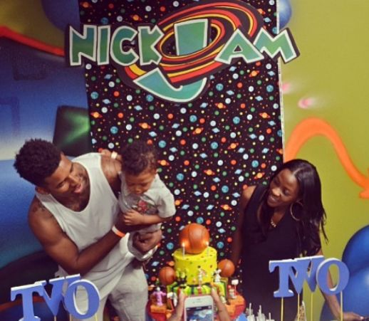 Pictures: Nick Young Throws Son A 'Space Jam'-Themed Birthday Party