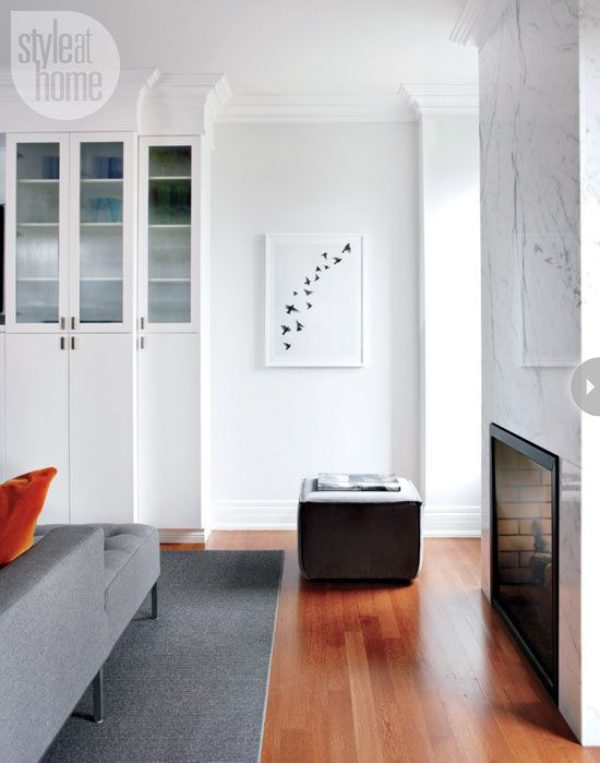 Interior: Minimal modern home - Style At Home