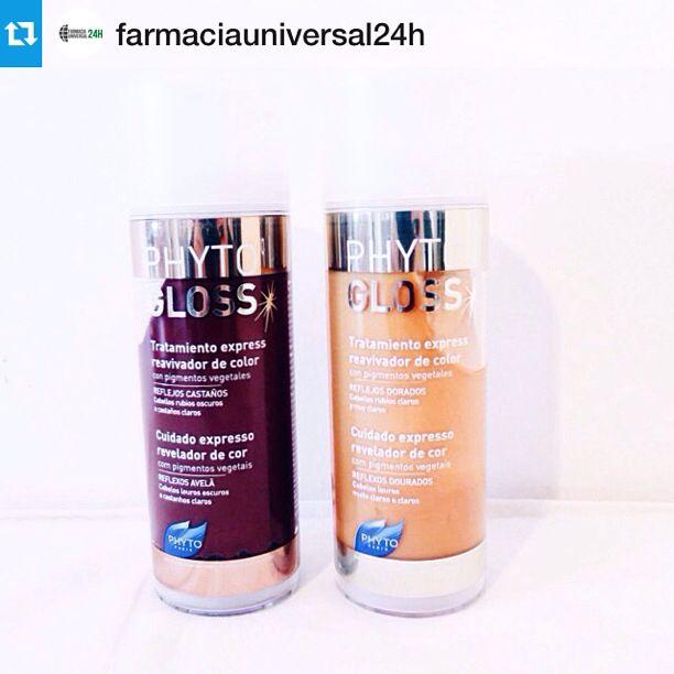 Ενίσχυσε το χρώμα των μαλλιών σου και χάρισε διάρκεια στη βαφή με τις φυτικές χρωμομάσκες PHYTOGLOSS της PHYTO Paris!  > TIP: Χρησιμοποίησέ την ανάμεσα στις δύο βαφές.