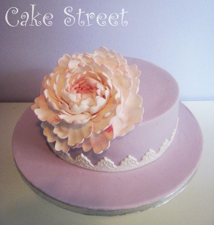 Peony Cake! Cakes by Samantha Seminar!